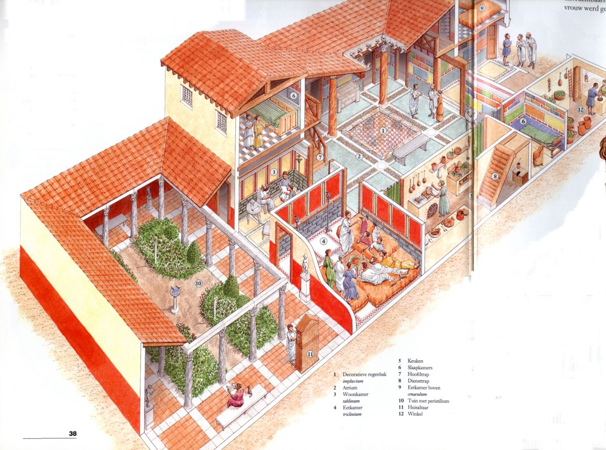 Villas home and the o 39 jays on pinterest for Roman style house plans
